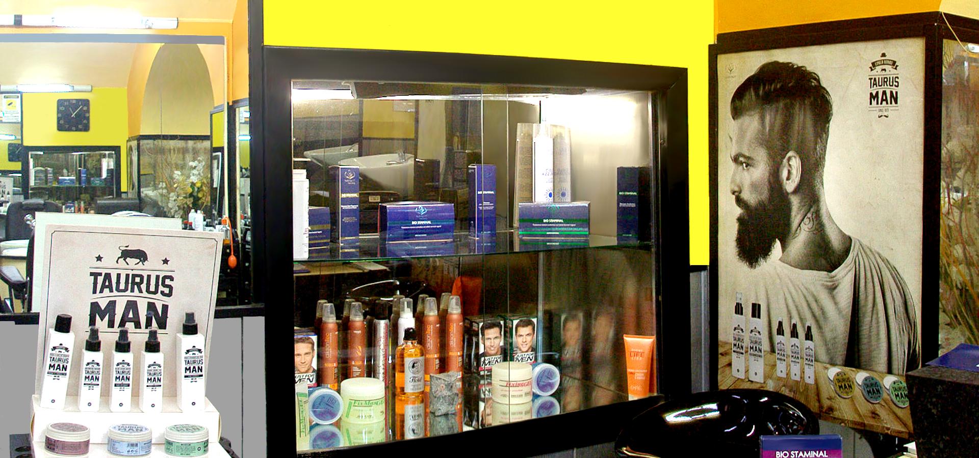 I prodotti del Barber Shop