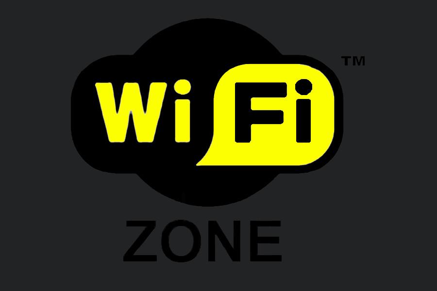 Il logo Wi Fi per la connessione ad internet